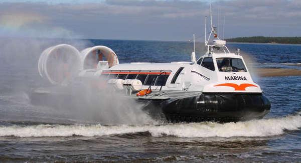 Видео судно на воздушной подушке 163